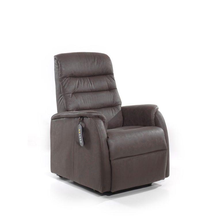 Relax 205 - Bruin/Grijs - 2 Motors Relaxzetel