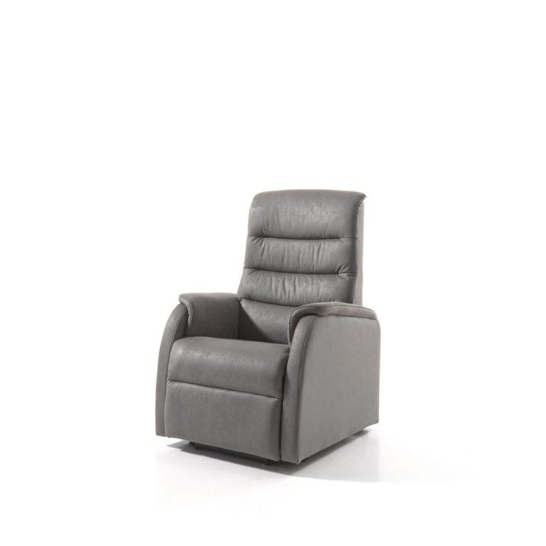 Relax 205 - LicHT Grijs - 2 Motors Relaxzetel