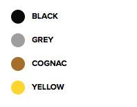 zwart-grijs-cognac-geel