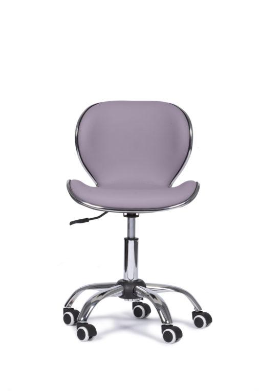 bureaustoel-violet-crome