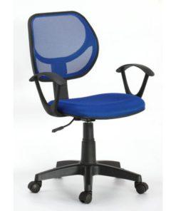 bureaustoelblauw