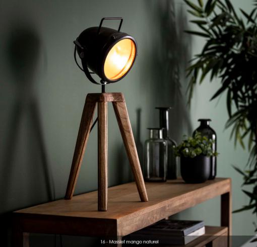 Tafellamp-spot on