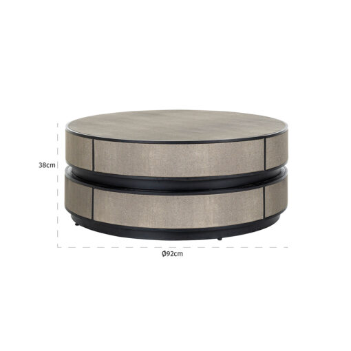 7519 - Coffee table Lustrio 91