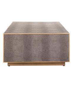 7533 - Coffee table Classio 150x80 Vegan Leather