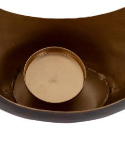 -KA-0133 - Candle holder Chady bronze small